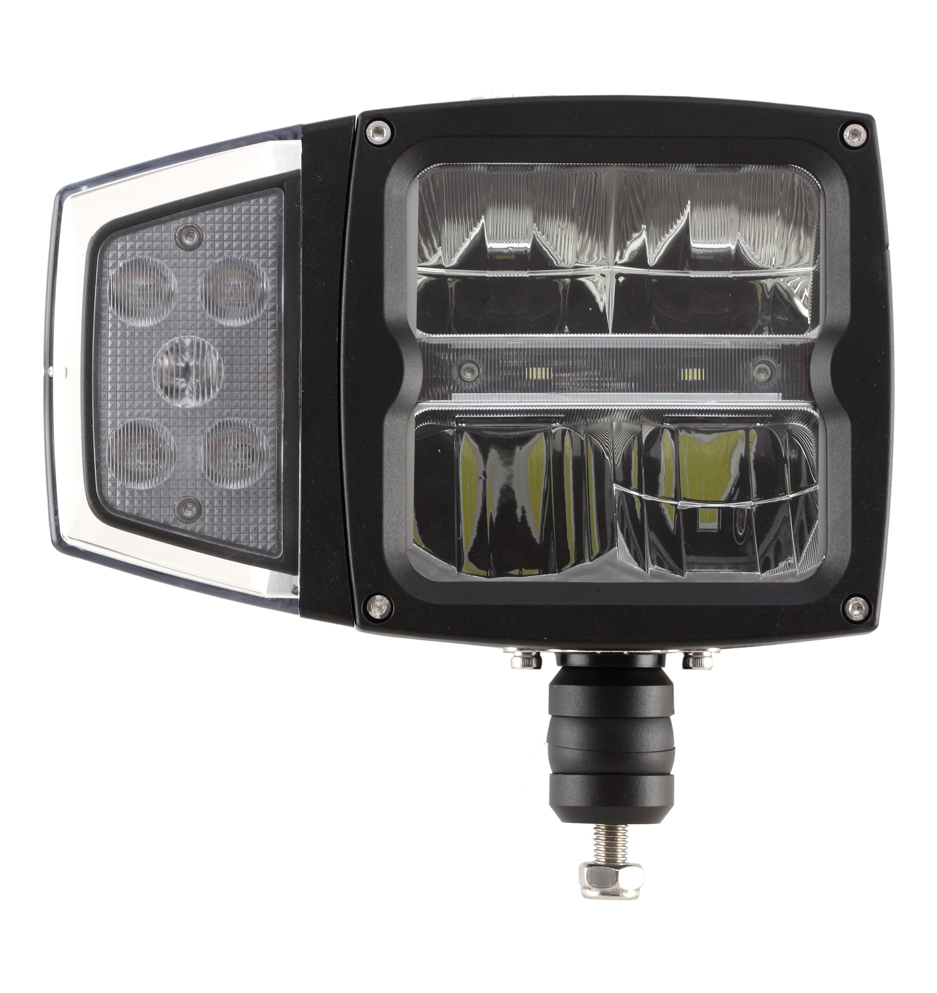 Snow Plow Light With Heated Lens 12 30v